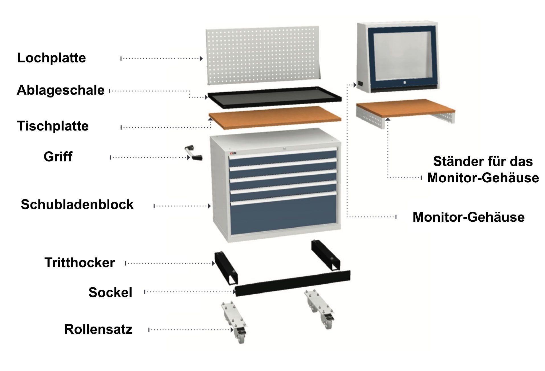 Tool Cabinets Serie VS