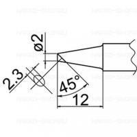 Lötspitzen Serie T20 zu Lötkolben FX 8301
