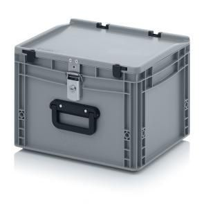 Lockable Euro container cases