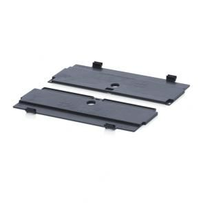 ESD hinged lid for foldable boxes