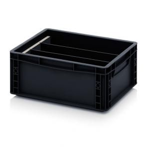 ESD longitudinal dividers for ESD Euro containers