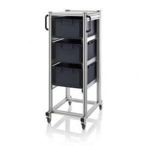 ESD system trolleys for Euro containers