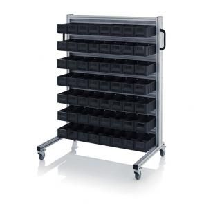 ESD system trolleys for rack boxes