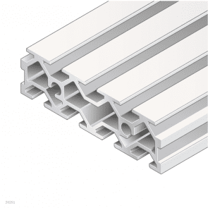 Grooved plate 30x100