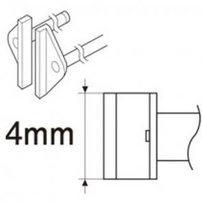 Lötspitzenpaar für SMD Pinzette SOP (950, FX-8804)