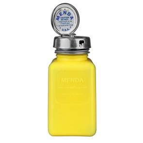 Yellow Dissipative ESD Protective Bottles