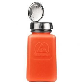 Orange Dissipative ESD Protective Bottles