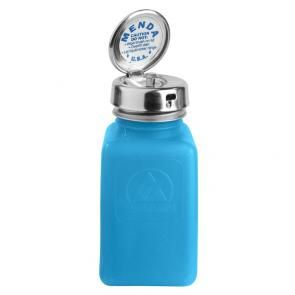 Blue Dissipative ESD Protective Bottles