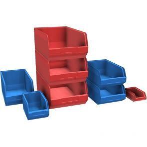 Plastic crates series Italy
