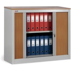 Office cabinet KD-141 (1 shelf) with louvre doors