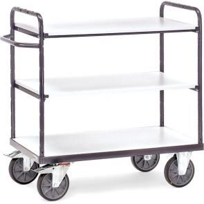 ESD shelved trolleys
