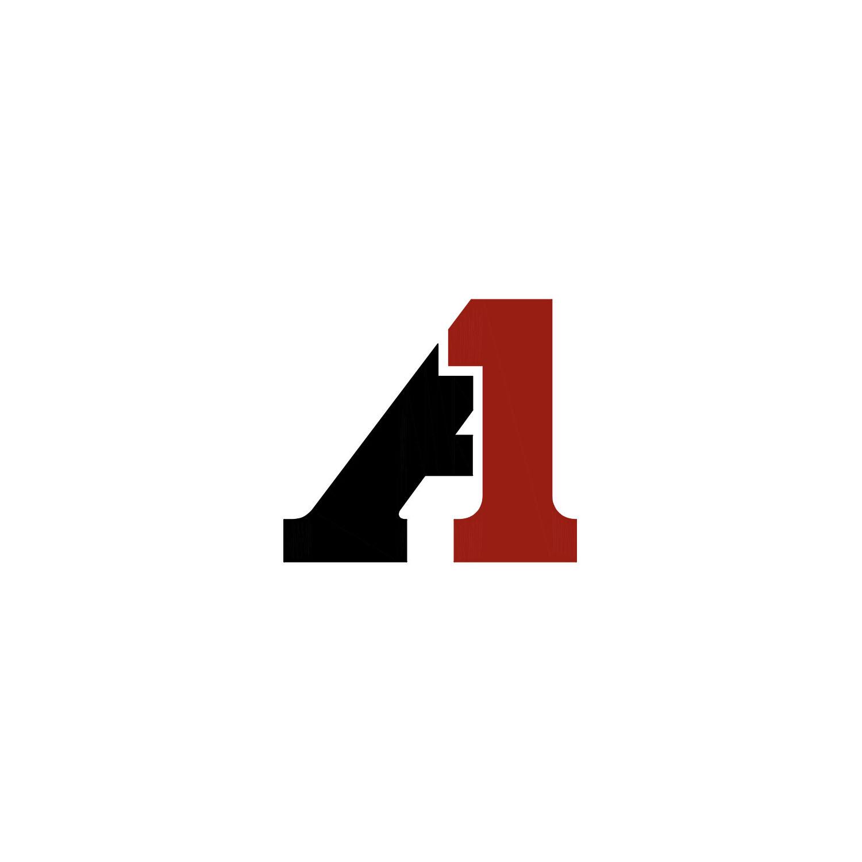 ALSIDENT 4-100-13-4. Flansch 100 mm für Kabinett, rot