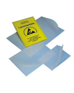 Leitfähige Laminierfolie, ESD, DIN A3, 304x434 mm, transparent, 100 St.