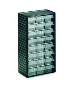 Kleinteilmagazine Treston Serie 554-3, 550x310x180 mm, 24 Schubladen