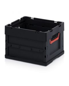 Auer ESD FB 43/27. ESD foldable boxes without lid, 40x30x27 cm