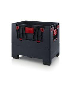 Auer ESD KLK 1208. Klappbare ESD-Klappbare BigBoxen mit 4 Eingriffsklappen