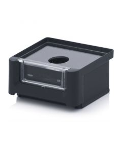 Auer ESD SK 1. ESD storage boxes with open front SK, 8,5x10,2x5 cm
