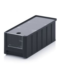 Auer ESD SK 3L. ESD storage boxes with open front SK, 32,5x15x12,5 cm