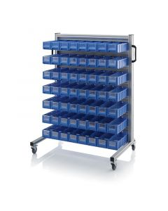 Auer SR.L.4109. System trolleys for rack boxes, 56 pieces RK 4109 (40x11.7x9 cm)