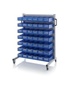 Auer SR.L.41509. System trolleys for rack boxes, 42 pieces RK 41509 (40x15.6x9 cm)