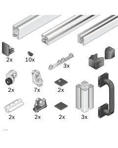 Bosch Rexroth 3842524163. EcoSafe-Bausatz Schiebetür mit Überbau