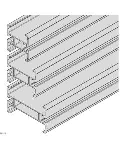 Bosch Rexroth 3842996022-1000. Streckenprofil, 65+ AL L VAR. 1000 mm