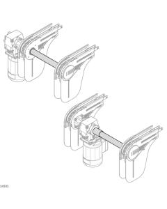 Bosch Rexroth 3842998774-1000. Verbindungssatz, VF+ SYNC DRIVE OUT. 1000 mm