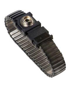 Warmbier 2052.750.5.10.  Metallgliederband antiallergenic, Typ Speidel, ESD, 10 mm, schwarz