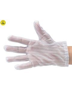 A1-ESD 51-690-0505. Reinraum Handschuhe weiß, Größe M