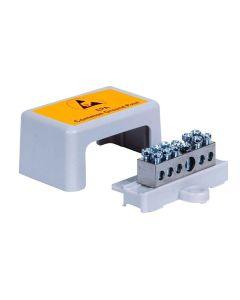 Zentrale Erdungsbox für max. 6-12 Leitungen
