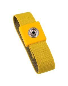 Handgelenkband, DK10, rot, anti-allerg., DK 10 mm, gelb