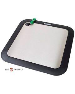 Fußplatte, 1-polig für Kombi-Teststation