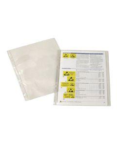 Dokumentenhülle DIN A4, leitfähig, transparent, 4-fach