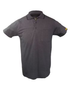 ESD-Poloshirt, unisex, dunkelgrau, XXL