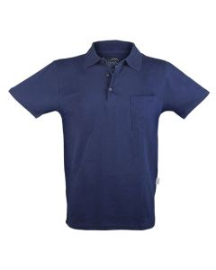 ESD-Poloshirt, unisex, marineblau, 5XL
