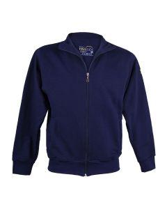 ESD-ProTEX Premium Sweatshirt-Jacke, marineblau, 5XL