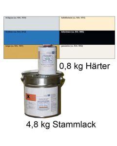 Ableitfähiger Spritzlack in RAL-Farben, RAL 5012 lichtblau