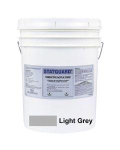 Acryl-Latex-Farbe, hellgrau, leitfähig, 19 Ltr.