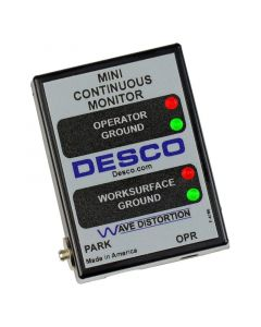 DESCO 19243. MINI-MONITOR, UNIVERSAL POWER ADAPTER