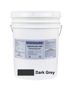 DESCO 210221. Statguard® Acryl-Latex-Farbe, dunkelgrau, 19L