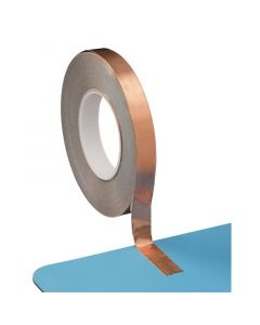DESCO 210315. Self-Adhesive Copper Earthing Tape, 0.15mm x 19mm x 50m