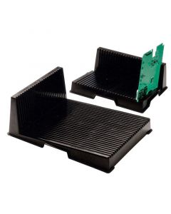 DESCO 237195. Small Conductive L-Shaped PCB Rack, 208mm x 272mm x 93mm