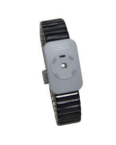 DESCO 2385. Dual Conductor Metal Wrist Band, Medium