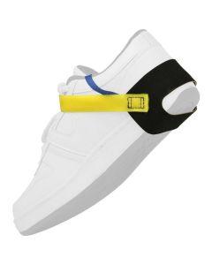 DESCO 248555. Heel Grounder with Yellow Straps, 1 Meg Resistor, 2/BAG