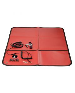 DESCO 8501. Portable Field Service Kit with Adjustable Wrist Strap, 560mm x 610mm