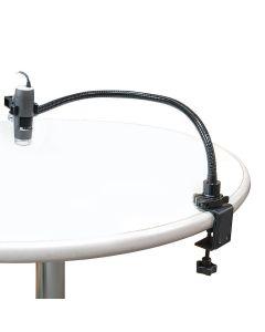 Dino-Lite RK-02. Schwanenhalsstativ mit Tischklemme für alle Mikroskope