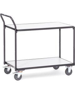 Fetra 1840. ESD-Tischwagen. 300 kg, mit 2 Böden, elektrisch leitfähige Ausführung