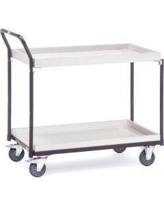 Fetra 1871. ESD-Tischwagen. 300 kg, mit 2 Kästen, elektrisch leitfähige Ausführung