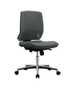 Antistatischer Arbeitsdrehstuhl GREF 263, Sitzhöhe 420-550 mm, ohne Armlehnen