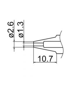 Hakko N3-13. Soldering tip Nozzle Size Φ1.3